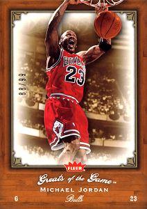 2005-06 Greats of the Game Gold #61 Michael Jordan