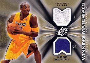 2006-07 SPx Winning Materials #WMKB Kobe Bryant