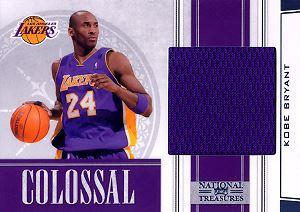 2009-10 Playoff National Treasures Colossal Materials #1 Kobe Bryant