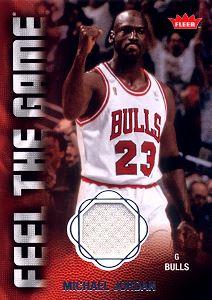 2008-09 Fleer Feel the Game #FGMJ Michael Jordan
