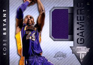 2013-14 Panini Titanium Gamers #23 Kobe Bryant