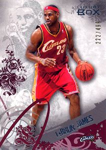 2006-07 Topps Luxury Box Red #23 LeBron James