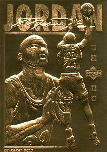 1994-00 Bleachers 23 Karat Gold #19 Michael Jordan/Upper Deck
