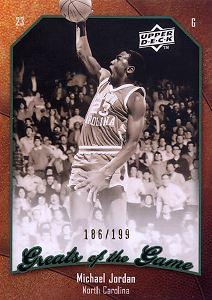 2009-10 Greats of the Game 199 #6 Michael Jordan