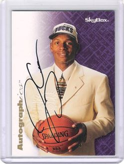 1996-97 SkyBox Premium Autographics #1 Ray Allen