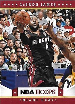 2012-13 NBA Hoops - [Base] #156 Lebron James