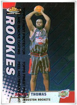 1999-00 Finest Refractors #122 Kenny Thomas $5.00 rockets