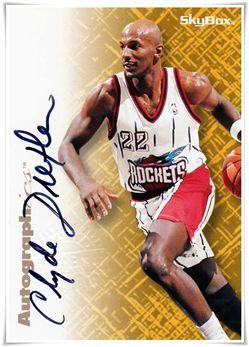 1996-97 SkyBox Premium Autographics #18 Clyde Drexler