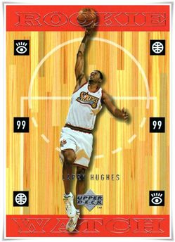 1998-99 Upper Deck #319 Larry Hughes RC $4.00 sixers
