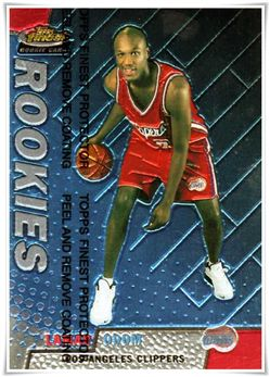 1999-00 Finest #119 Lamar Odom RC $5.00 clippers (unpeeled)