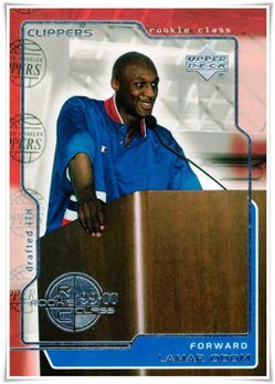 1999-00 Upper Deck #159 Lamar Odom RC $5.00 clippers