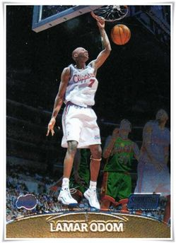 1999-00 Stadium Club Chrome #135 Lamar Odom RC $4.00 clippers