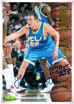 1995-96 Classic Five Sport Signings AU #18 George Zidek /225 $5.00 Ucla