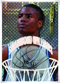 1998 Collector's Edge Impulse Pro Signatures #24 Shammond Williams $5.00 unc