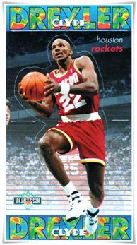 1996 Fleer French Kellogg's Frosties #5 Clyde Drexler