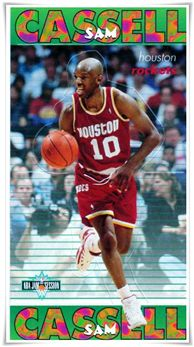 1996 Fleer French Kellogg's Frosties #4 Sam Cassell