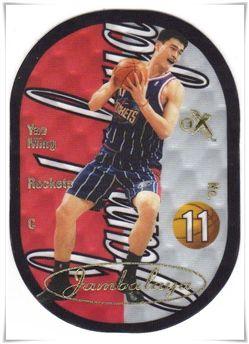 2003-04 E-X Jambalaya #13 Yao Ming
