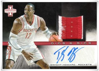 2013-14 Innovation Digs and Sigs Prime #18 Dwight Howard