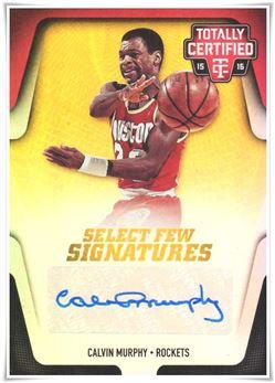 2015-16 Totally Certified Select Few Signatures Mirror #SFCM Calvin Murphy