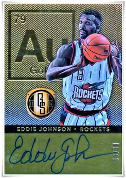 2014-15 Panini Gold Standard AU Autographs #52 Eddie Johnson