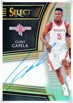 2018-19 Select Signatures #17 Clint Capela