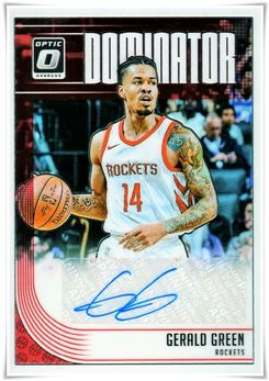 2018-19 Donruss Optic Dominator Signatures #39 Gerald Green