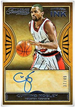 2018-19 Panini Chronicles Timeless Treasures Timeless Ink #21 Cuttino Mobley
