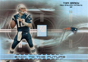 2003 Donruss Elite Back to the Future BF11 Tom Brady