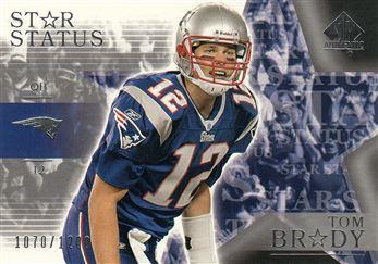 2003 SP Authentic 142 Tom Brady SS