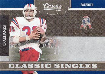 2010 Classics Classic Singles 7 Craig James