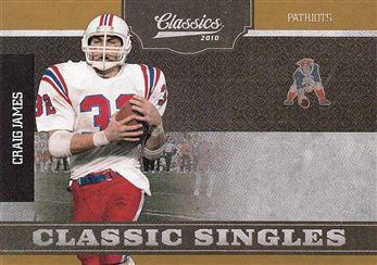 2010 Classics Classic Singles Gold 7 Craig James