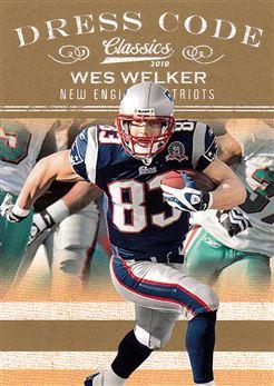 2010 Classics Dress Code Gold 13 Wes Welker