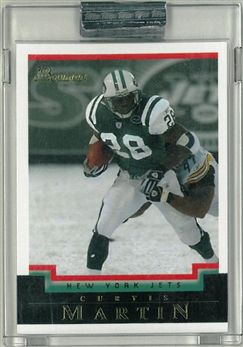 2004 Bowman  Uncirculated White 87 Curtis Martin