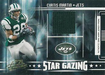 2005 Absolute Memorabilia Star Gazing Jersey Prime 32 Curtis Martin