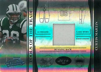 2006 Absolute Memorabilia Tools of the Trade Material Black Spectrum TOT35 Curtis Martin