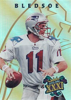 1997 Collector´s Edge Masters Patriots Super Bowl XXXI 4 Drew Bledsoe