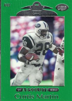 1999 Absolute SSD  Green 74 Curtis Martin