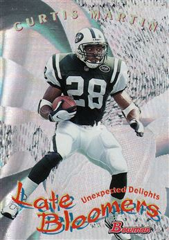 1999 Bowman Late Bloomers/Early Risers U8 Curtis Martin