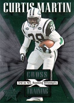 1999 Leaf Rookies & Stars Cross Training CT13 Curtis Martin