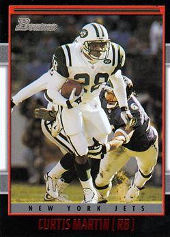 2001 Bowman 99 Curtis Martin