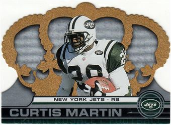 2001 Crown Royale  95 Curtis Martin