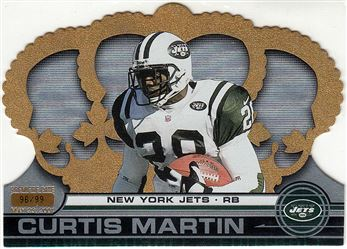 2001 Crown Royale  Premiere Date 95 Curtis Martin