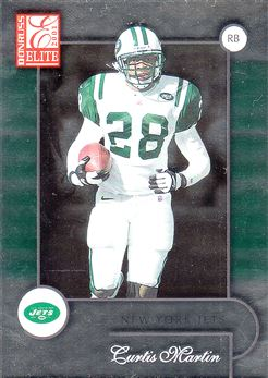 2001 Donruss Elite 66 Curtis Martin