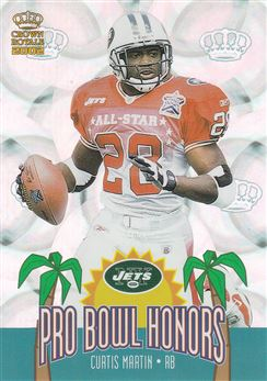 2002 Crown Royale Pro Bowl Honors 12 Curtis Martin