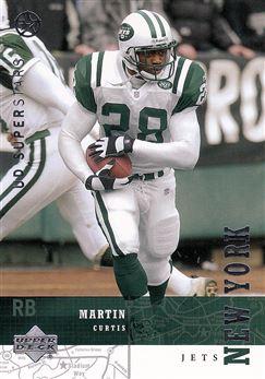 2002 - 03 UD Superstars 163 Curtis Martin