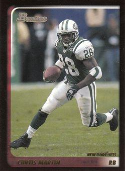 2003 Bowman 13 Curtis Martin