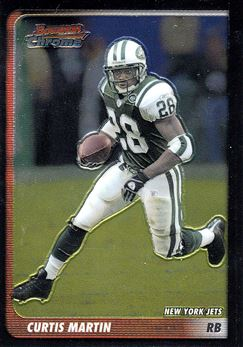 2003 Bowman Chrome 13 Curtis Martin