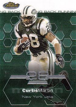 2003 Finest 17 Curtis Martin