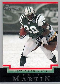 2004 Bowman  87 Curtis Martin