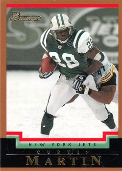 2004 Bowman  Gold 87 Curtis Martin